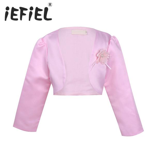 Red Faux Fur Children Child Kids Flower Girls Wedding Long Jacket Coat 1-9 Years