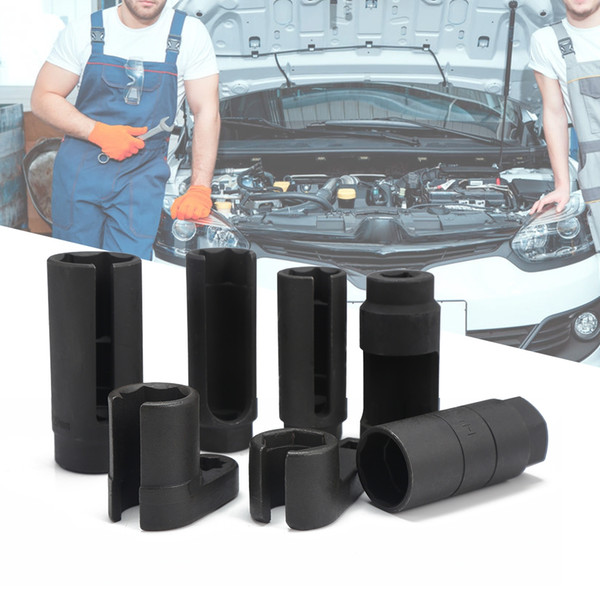 7pcs O2 Thread Chasers Oxygen Sensor Socket Install Car Repair Tool