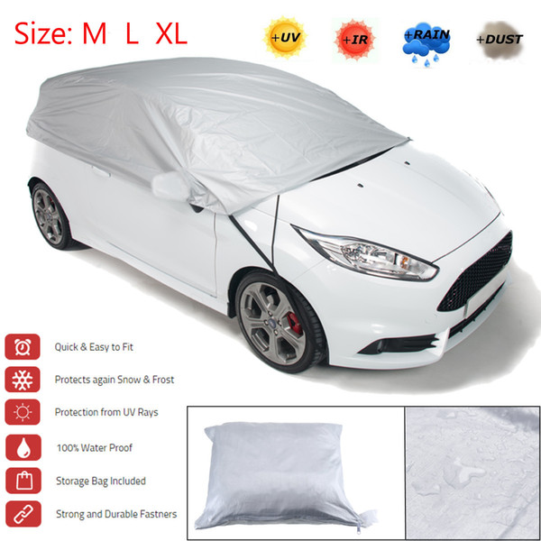 best selling Universal Car Cover Sun Shade Snow Ice Protection Dustproof Waterproof Outdoor Protective Covers