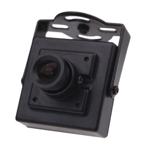 "TTKK Brand New Mini HD 700TVL 1/3"" CMOS NTSC 3.6mm MTV Board Lens Mini CCTV Security Video FPV Color Camera"