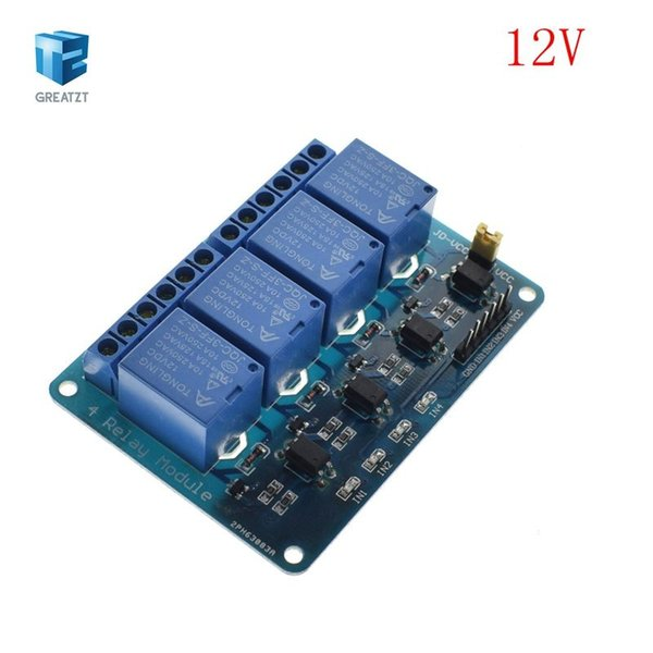 4 Channel Relay 12V