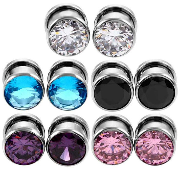 top popular man woman Earlets Gauge Fashion body jewelry Expanders High Quality Ears Expanders Rings wholesale 2021