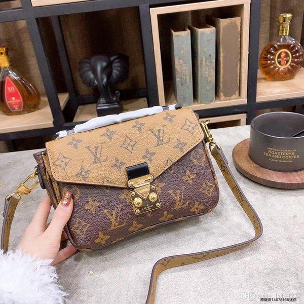 Designer Handtaschen Italien Leder 43704 Mode Frauen Tasche Kette Umhängetasche MICHAEL 00 KOR Marke Designer Messenger Bag Sac a Main