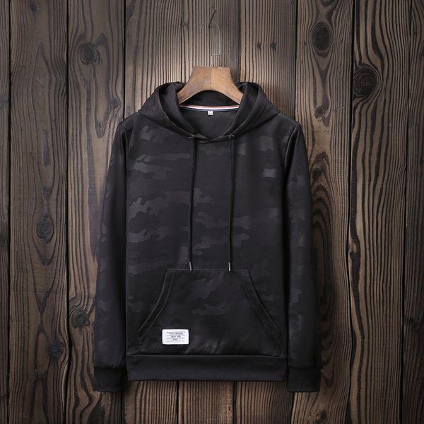 Дизайнерская мужская толстовка с капюшоном бренда 2019 Осень Новый камуфляж Tide Марка свитер с логотипом на заказ мужская спортивная рубашка с длинными рукавами футболки мужской