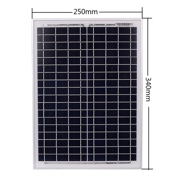 Freeshipping 18V20W Güneş Panelleri + 12 V / 24 V USB Arayüzü ile Güneş Kontrol