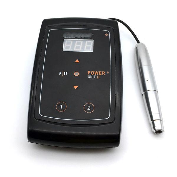 Permanent makeup machine swiss motor Silver Rotary Tattoo Machine Pen Set for Eyebrow Eyeliner Lips Body tattoo New Arrival