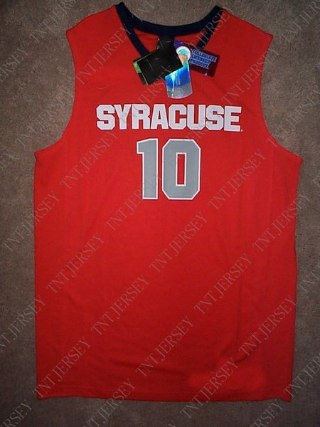 Cheap custom Syracuse Orange #10 Basketball Jersey Stitched Customize any number name MEN WOMEN YOUTH XS-5XL