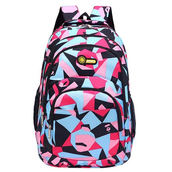 44884c0d697 Backpack Teenage Girls Boys School Backpack Camouflage Printing Students  Bags Zipper Bag S Mujer  65