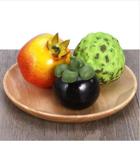 Artificial Fruit Photo Props Education Display Props Creative Gift Plastic Foam Home Wedding Showcase Decorations (Green Lychee)