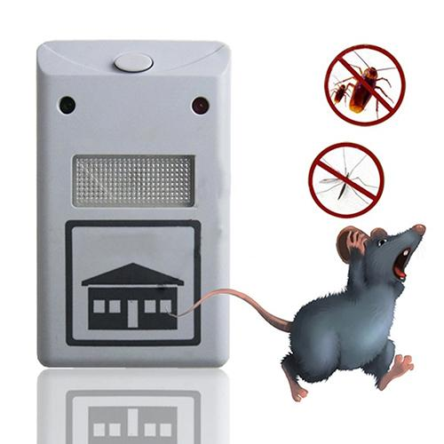300PCS EU US Plug Electronic Ultrasonic Rat Mouse Mice Repellent Rodent Pest Bug Reject Mole Mosquito Cockroaches Repeller