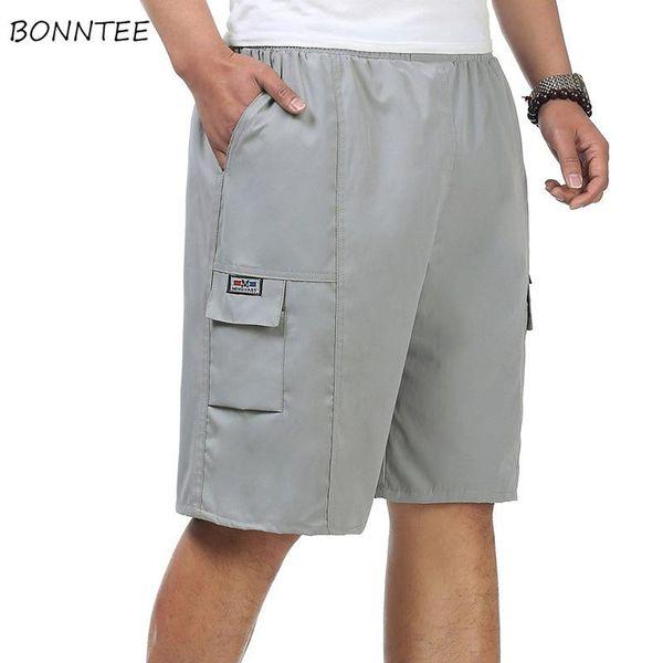 Beiläufige Kurzschlüsse Mann-Taschen-Freizeit-täglicher koreanischer Art-fester einfacher Sommer-Ladung-kurzer Mens-große weiche Qualitäts-modisch