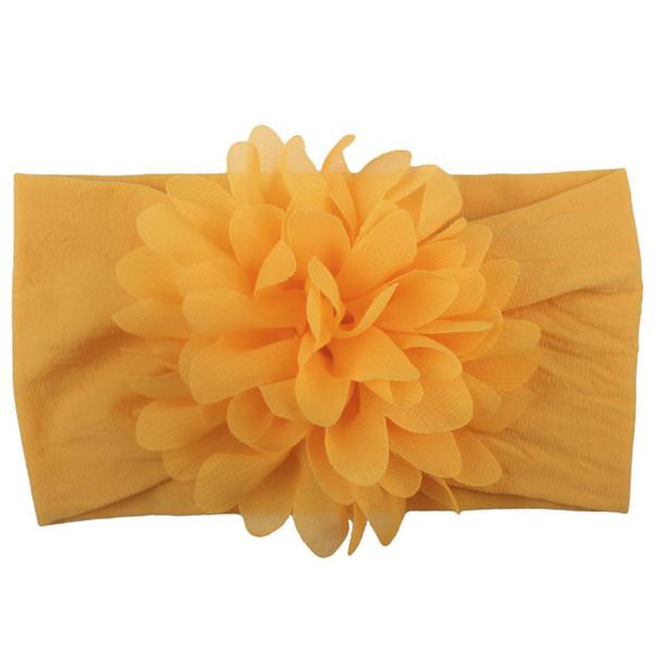 13 Colors Flowers Headbands Baby Children Hair Sticks Elastic Kids Hair Accessories Flowers Girls Head Bands Infant Headband