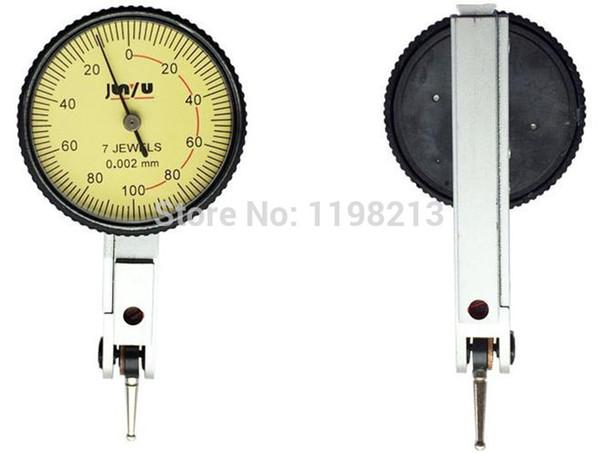top popular Dial Test Indicator Measuring Tool Leverage dial gauge 7JEWELS 0-0.2MM*0.002mm 2021