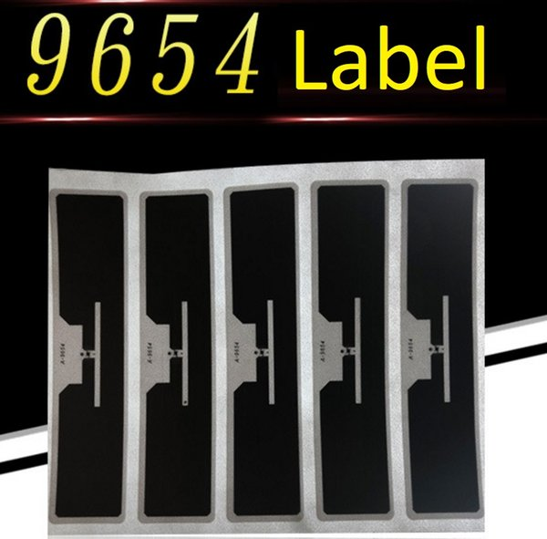 500pcs/lot Alien Higgs3 9654 Wet/Dry Inlay UHF RFID Labels 860~960MHz EPC Global Class1 Gen2 Inlay 93X19MM For Warehouse Shop Management DHL
