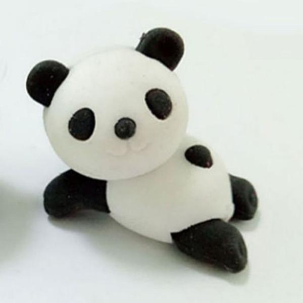 Borrador Lindo Animal Forma de Panda Borrador de goma Artículos de papelería Escuela Material de oficina