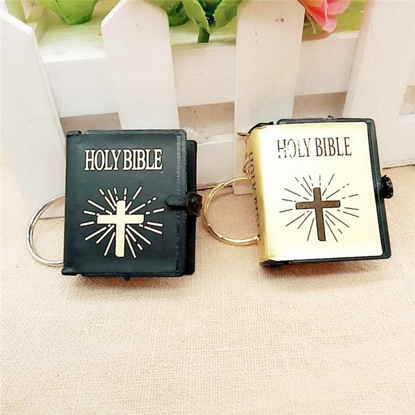 1PC Book Hanger Keychains, 4*3.5*1.2cm Mini Books Key Chain, Cute Book Keyrings, jewelry accessories, gifts