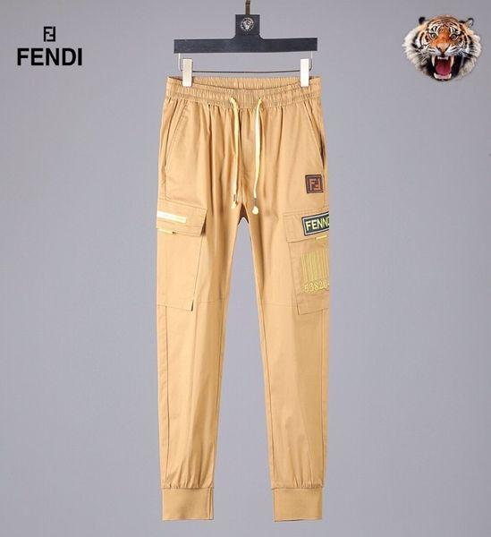 2019 nueva moda ropa deportiva para hombre pantalones casuales algodón pantalones deportivos para hombre LOGO impreso pantalones hip hop