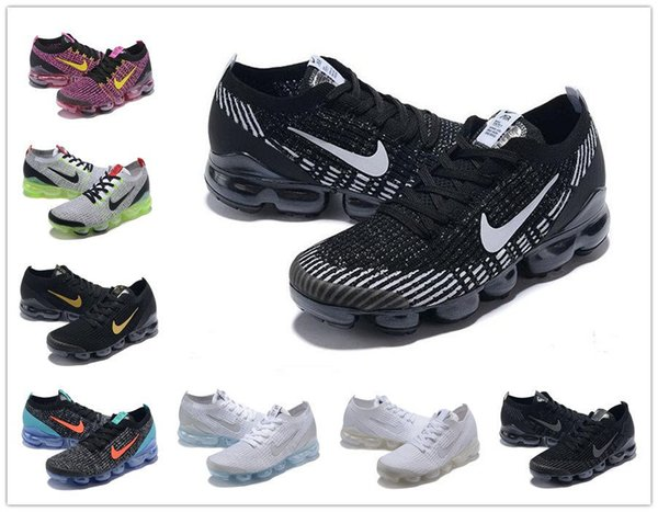 2019 Knit 2.0 Fly 3.0 Running Shoes air Men VAPOR Women BHM MAX Orbit Metallic Gold Triple Black Designer Shoes Sneakers Trainers 36-45