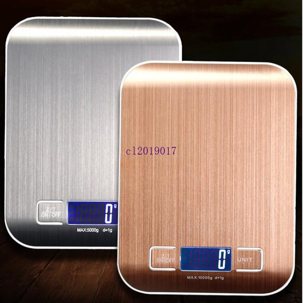 0.01-500g LCD Digital Elektronische Küchenwaage Edelstahl Lebensmittel Skala DE