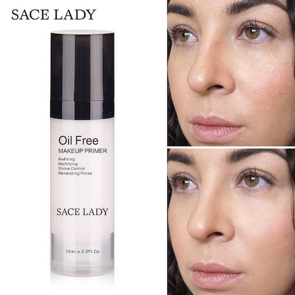 Wholesale DHL 15ML Face Makeup Primer Oil Free Control Match Concealer Make Up Matte Base Foundation Primer No Pore Natural Moisturizer Gel
