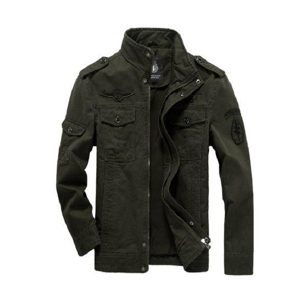 Baumwolle Military Jacke Männer 2019 Herbst Soldat MA-1 Stil Armee Jacken Männliche Marke Slothing Herren Bomber Jacken Plus Größe M-6XL