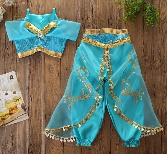 Детский костюм горячий жасмин Хэллоуин Aladdin костюм