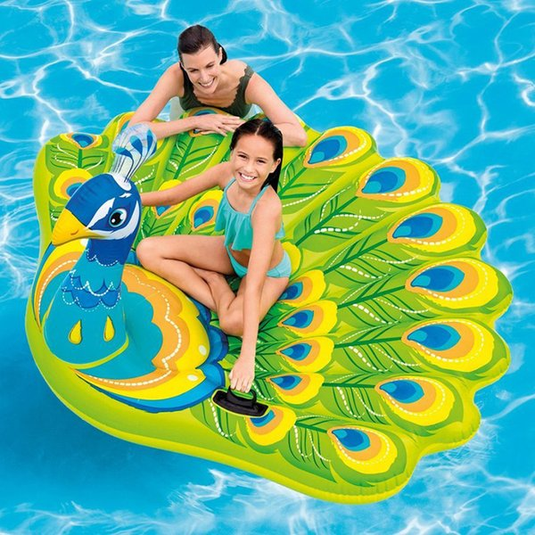 Fantastic 2019 193Cm Giant Inflatable Peacock Pool Float Ride On Swimming Ring For Adult Children Air Mattress Beach Chair Lounger Water Toys From Grid 40 61 Lamtechconsult Wood Chair Design Ideas Lamtechconsultcom