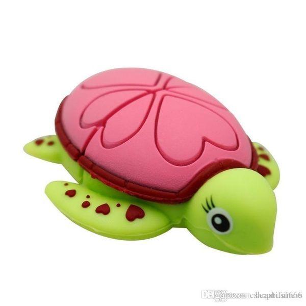 Brand Real Capacity USB Flash Drive cartoon Tortoise Turtle memory stick Sea turtle pen drive 32gb~128gb
