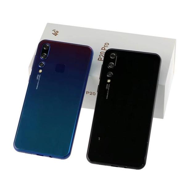 Goophone 5.5inch P20 Pro Quad Core teléfono Android Pantalla HD 1GB RAM 4GB ROM Mostrar caja falsa desbloqueada 4G LTE desbloqueada