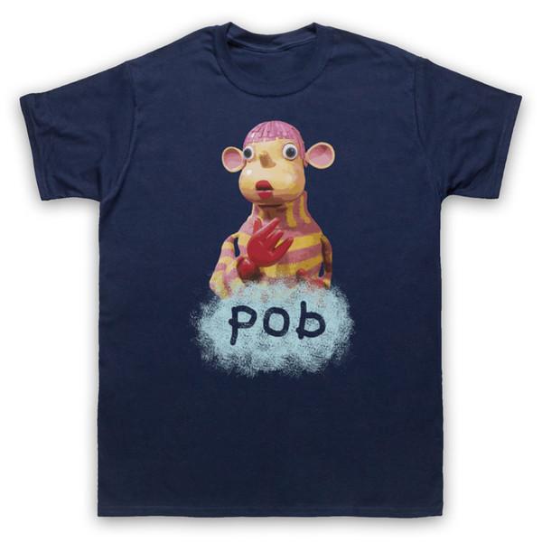 POB KID'S TV SHOW PUPPET SPIT FUNNY RETRO 90'S MENS WOMENS & KIDS T-SHIRT Funny free shipping Unisex Casual Tshirt top