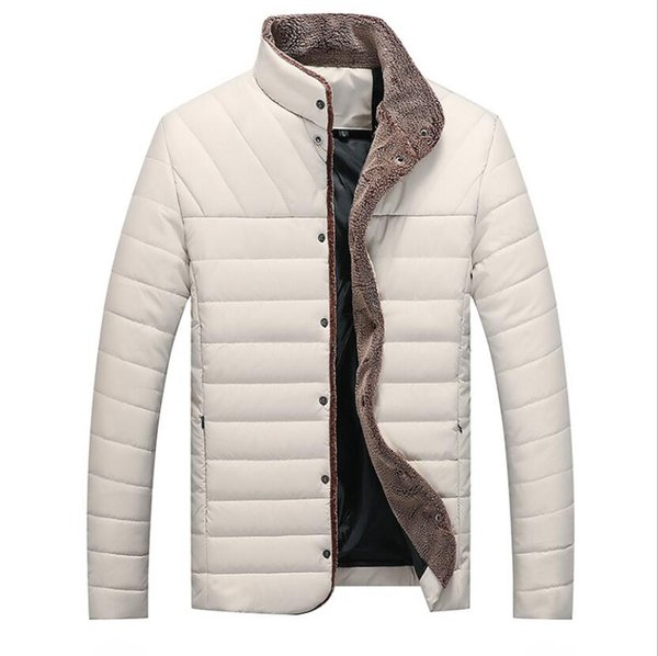 Fashion Mens Designer PU Leather Down Jackets Thick Warm High Quality Winter Designer Down Jackets M-5XL