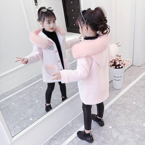 pink-Fur collar