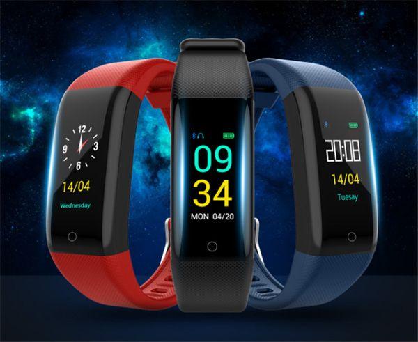 T10 смарт-браслет водонепроницаемый монитор сердечного ритма здоровья потребления калорий телефон сообщение сидячий напоминание цвет экрана браслеты
