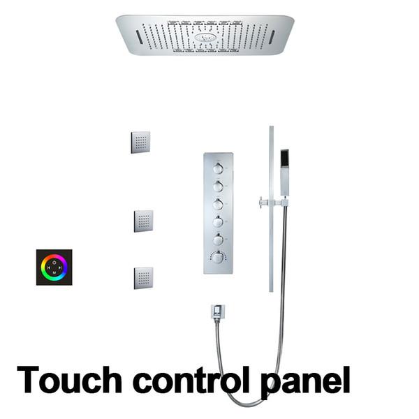 Touch-панели управления