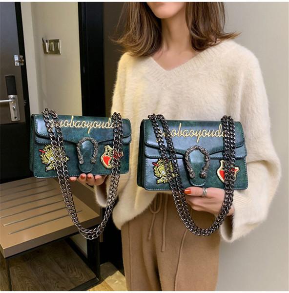 Moda mujer bolsos de hombro de la marca de lujo del bolso de cuero de la PU bolsos del diseñador famoso bolsa de crossbody del messenge