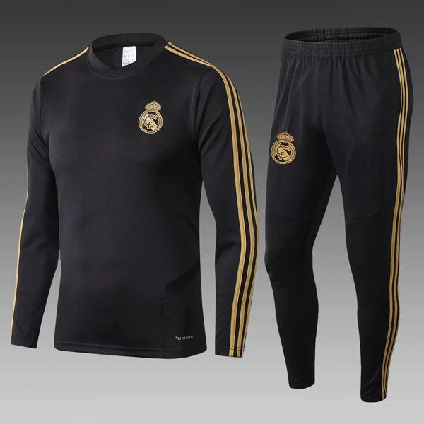 19 20 real madrid soccer tracksuit HAZARD JOVIC MILITAO survêtement de football 2019 2020 VINICIUS ASENSIO training suit maillot de foot