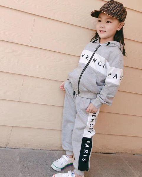 Baby Mädchen Jungen Verdickung Sport Anzüge 2019 Herbst Winter Kinder Reißverschluss Hoodie Mantel + Hose Casual Trainingsanzug Jungen Kleidung Set