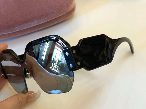 Luxury-BLACK/GRAY MIRROR SILVER SUNGLASSES SORBET SMU09S Sonnenbrille des lunettes de soleil men Designer Sunglasses Glasses New with Box