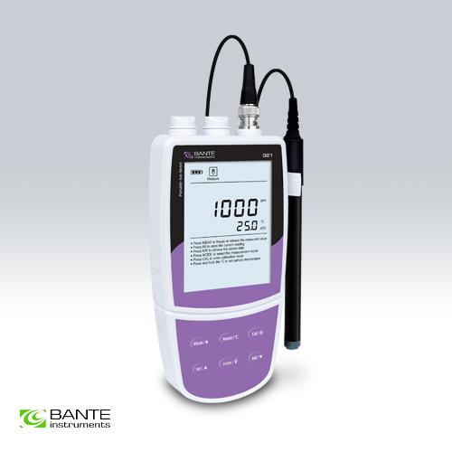 BRAND BANTE Professional portable fluoride ion concentration meter tester analyzer handheld data store USB to PC