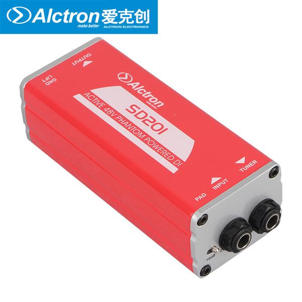 Alctron SD201 Профессиональный пассивный DI ящик используется при записи гитары и сценических, акустической и электрической гитаре
