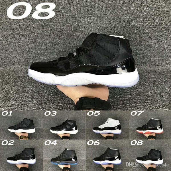 11 Bred Concord Space Jam Legend Gamma Blue Xi Men Basketball Shoes Cheap Sneakers Red Black Outdoor Sports Shoes All Sizes