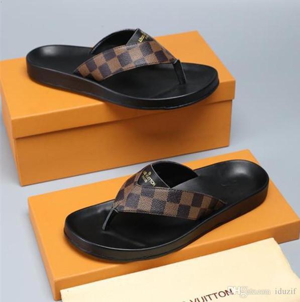 Wholesale Italy Designer Rubber Slide Sandal Tiger Slide Beach Designer Slippers Mens Sandals Luxury Shoes Casual Slides Flip Flops Slipper