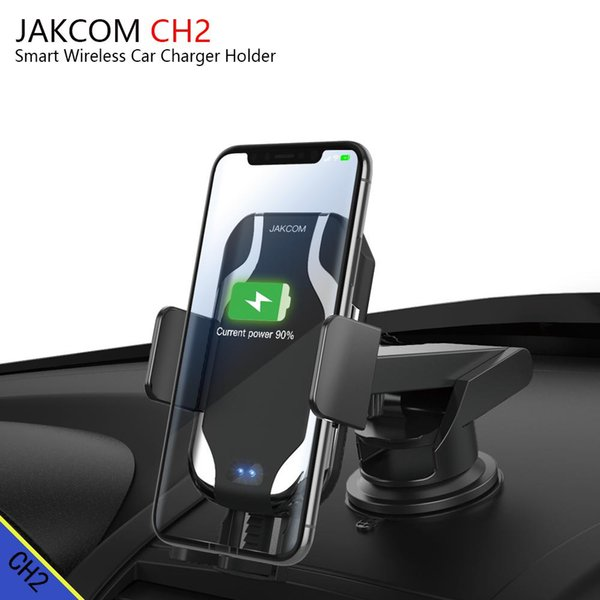 JAKCOM CH2 Smart Wireless Car Charger Mount Holder Hot Sale in Cell Phone Chargers as smart phone android celular card printer