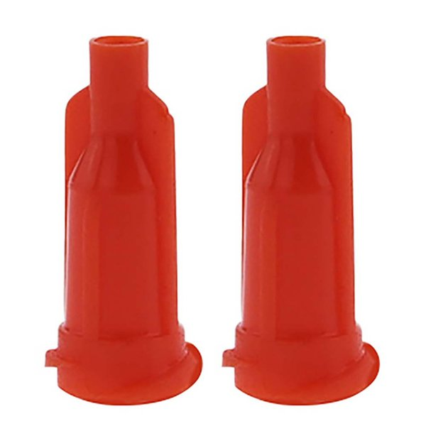 top popular Glue dispensing syringe tip Orange cap hat 1000 PCS lot 2021