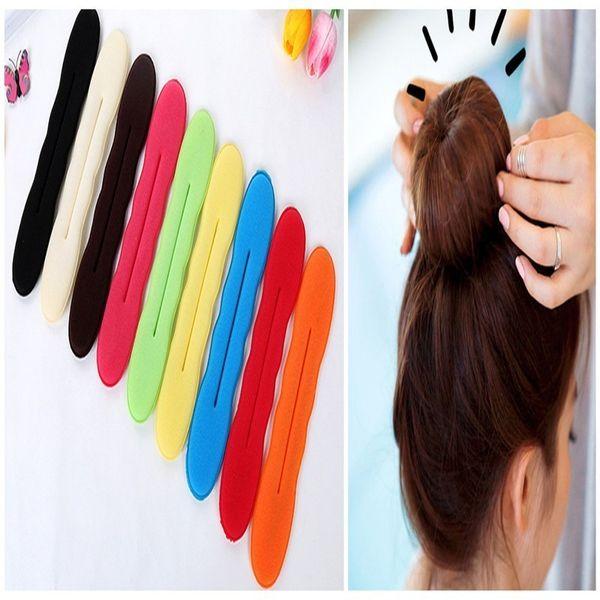 Beauty Bun Maker Twist Curler Hair Roller Coiffure Hair Braider Magic French Sponge Easy DIY Styling Tools
