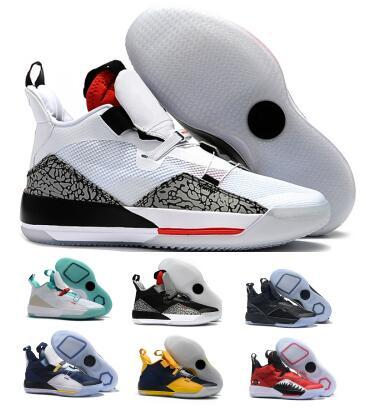 Mens 33 33s Basketball Shoes Sneakers 2019 Red Visible Utility Future Flight Guo Goes Ailun Tech Year Of PE Zapatilla Basket Ball Shoes