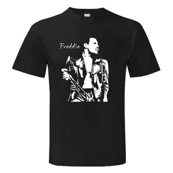T-shirt FREDDIE freddy maglietta maglia Uomo Donna Homme SHOW MERCURY Nouveau T-shirt Drôle Tops