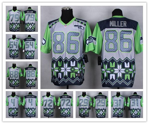 e3ac9815 2019 Hot Sale Seattle Men'S Seahawks 9 Shaquem Griffin 3 Russell Wilson 54  Bobby Wagner Football Jersey 2018 2019 NEW From Double_angel, $30.46 | ...
