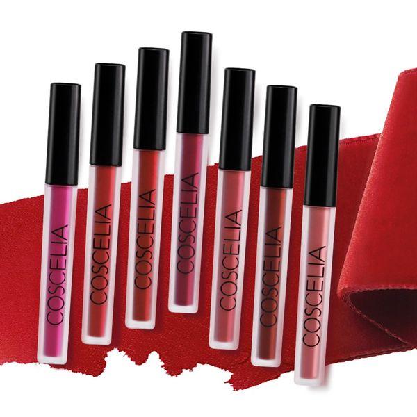 15 farbe matte sexy flüssigkeit lipgloss make-up samt nude lipgloss wasserdicht flüssig matte lippenstift langanhaltende beauty make-up