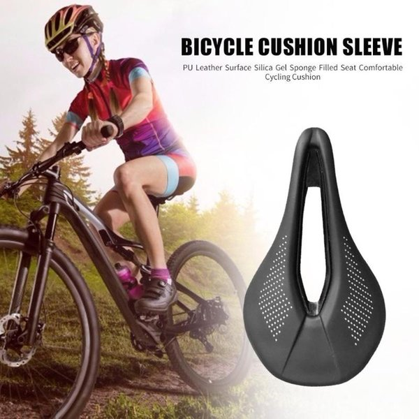 Ultra-light MTB Road Bike Bicycle Breathable Soft Saddle Seat Pad Cushion Cheap